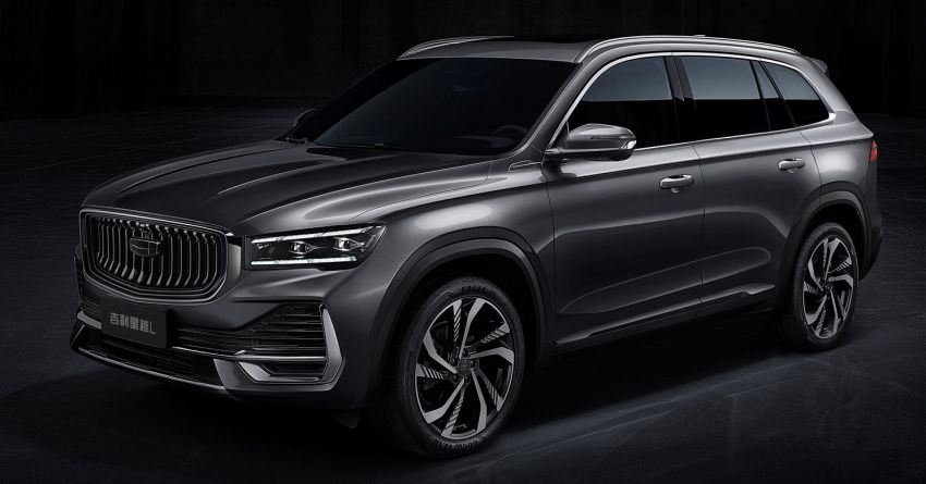 Geely Xingyue L features a one-metre-long display – KX11 SUV to go on sale in China soon with a 2.0T Image #1266369