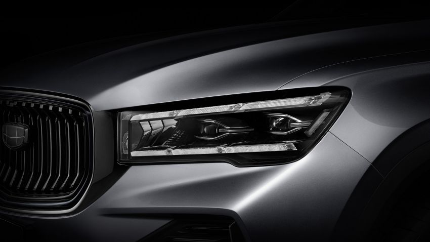 Geely Xingyue L features a one-metre-long display – KX11 SUV to go on sale in China soon with a 2.0T Image #1266371