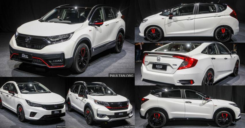 GALLERY: Honda 1 Million Edition models – City, Jazz, Civic, Accord, BR-V, CR-V, HR-V one-offs in detail Image #1259672
