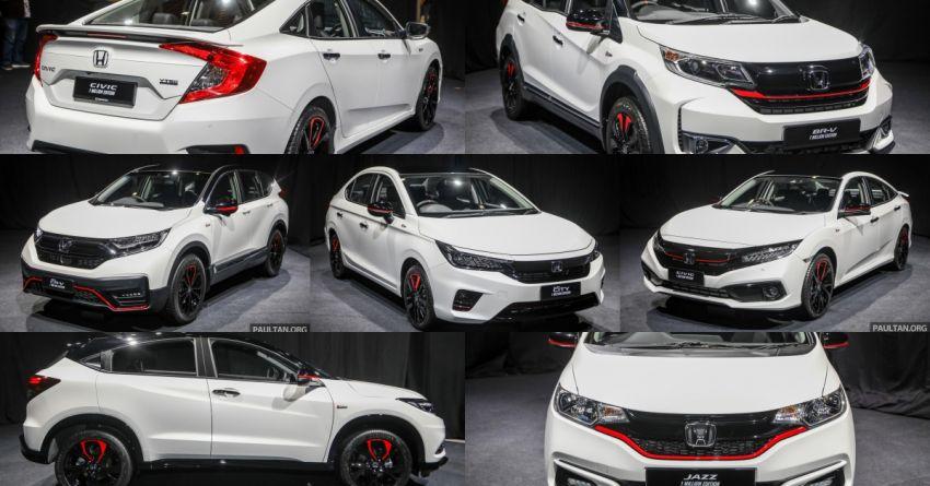 GALLERY: Honda 1 Million Edition models – City, Jazz, Civic, Accord, BR-V, CR-V, HR-V one-offs in detail Image #1259665