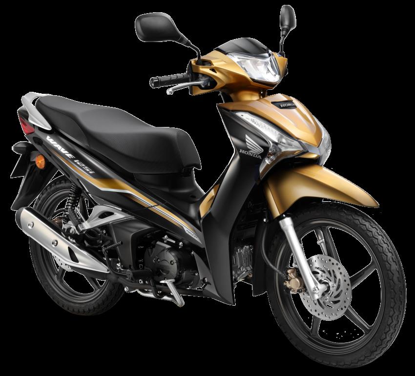 Honda Wave 125i diberikan pembaharuan – RM6,449 Image #1256098