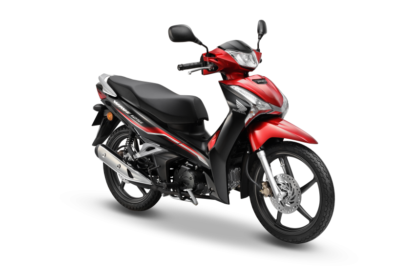 Honda Wave 125i diberikan pembaharuan – RM6,449 Image #1256100