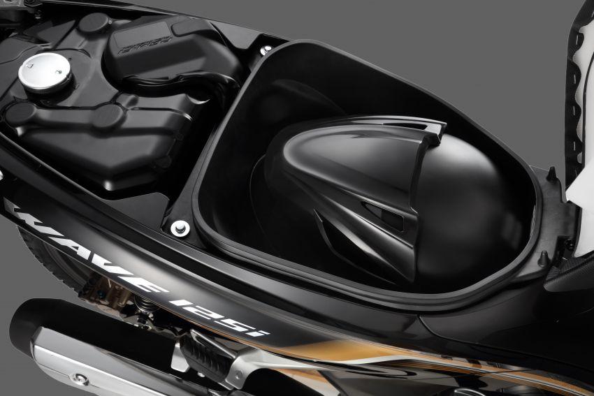 Honda Wave 125i diberikan pembaharuan – RM6,449 Image #1256110