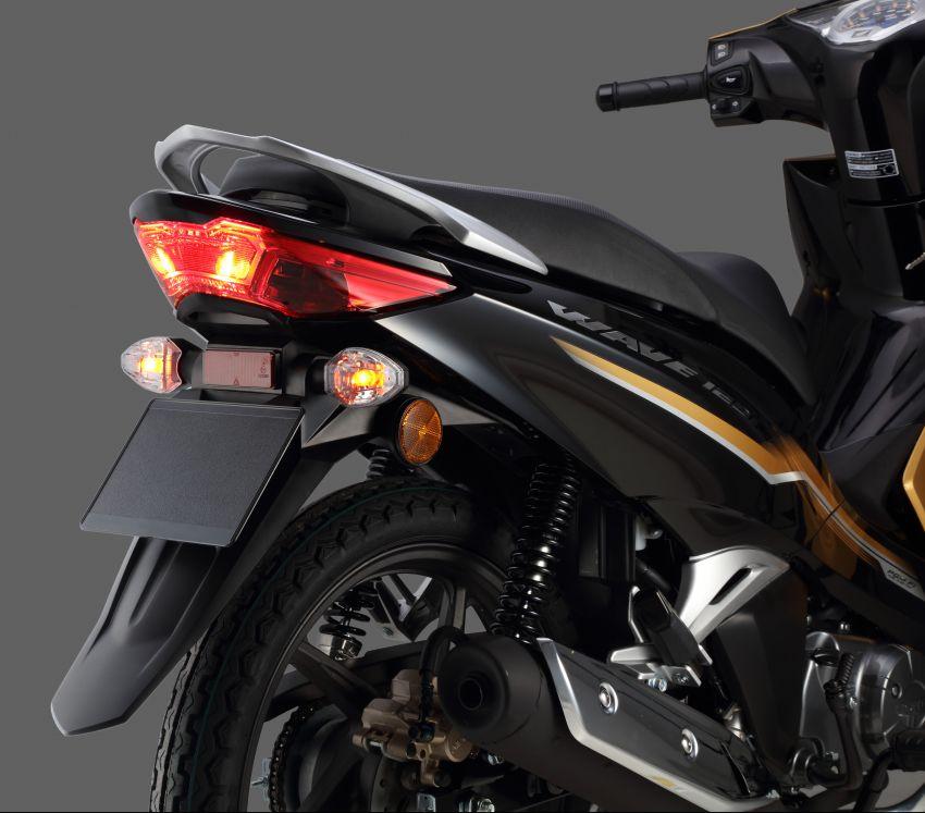 Honda Wave 125i diberikan pembaharuan – RM6,449 Image #1256108