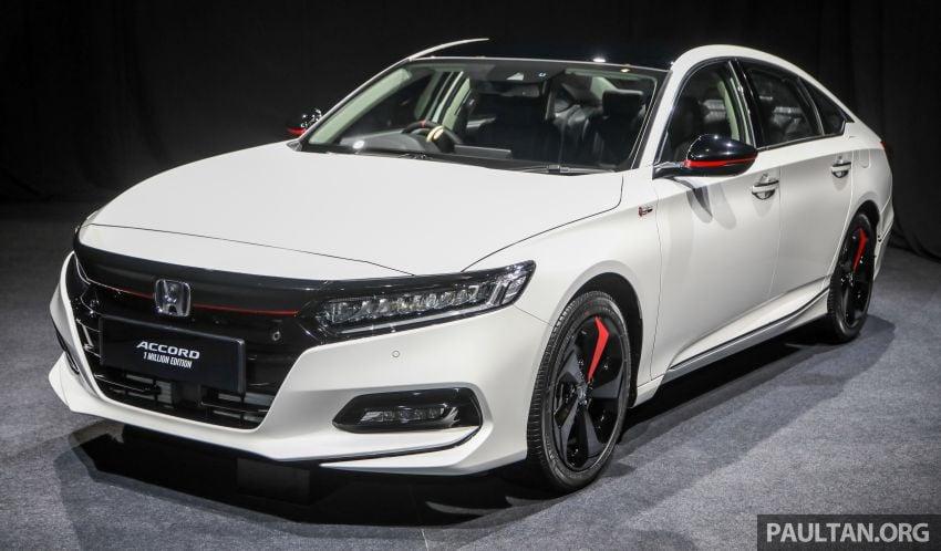 GALLERY: Honda 1 Million Edition models – City, Jazz, Civic, Accord, BR-V, CR-V, HR-V one-offs in detail Image #1259473