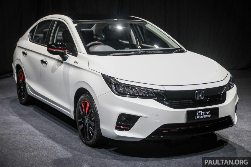 GALLERY: Honda 1 Million Edition models – City, Jazz, Civic, Accord, BR-V, CR-V, HR-V one-offs in detail Image #1259517