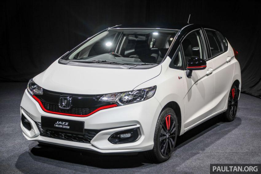 GALLERY: Honda 1 Million Edition models – City, Jazz, Civic, Accord, BR-V, CR-V, HR-V one-offs in detail Image #1259603