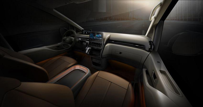 Hyundai Staria – lebih banyak gambar dan perincian didedah, mod santai bagi penumpang varian Premium Image #1265393