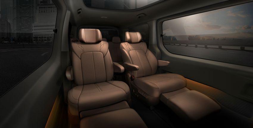 Hyundai Staria – lebih banyak gambar dan perincian didedah, mod santai bagi penumpang varian Premium Image #1265392