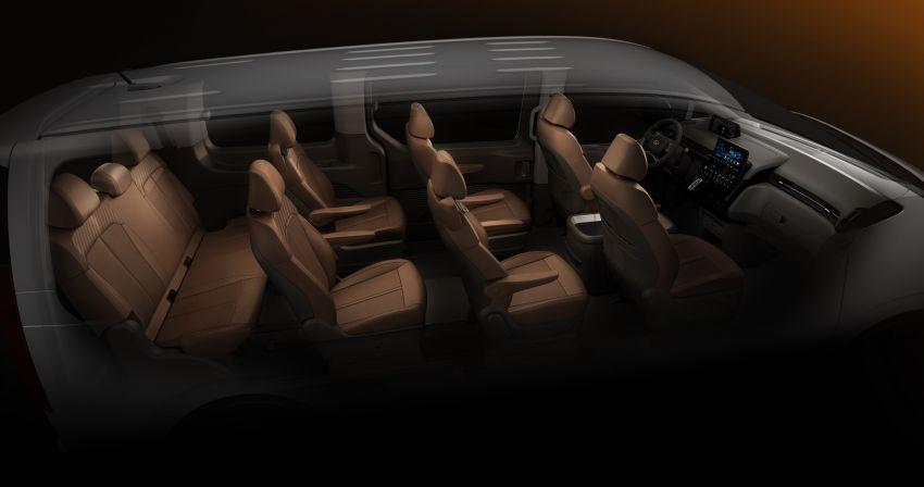 Hyundai Staria – lebih banyak gambar dan perincian didedah, mod santai bagi penumpang varian Premium Image #1265391
