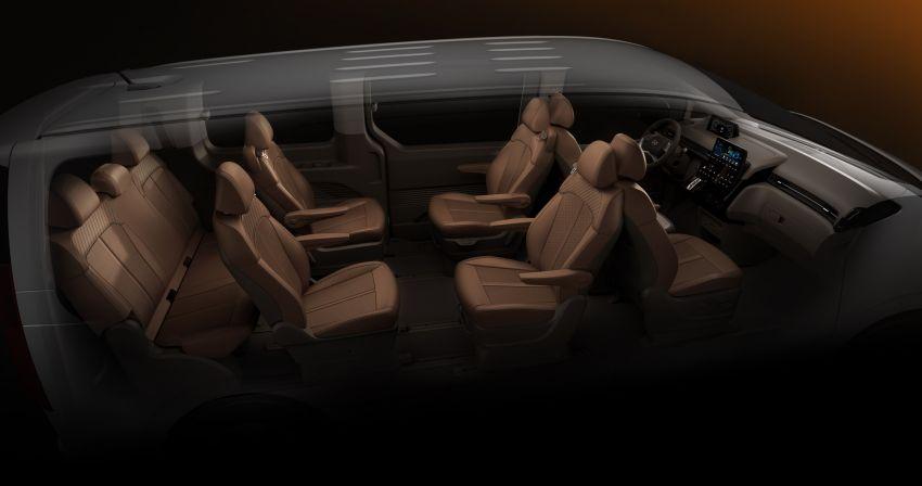 Hyundai Staria – lebih banyak gambar dan perincian didedah, mod santai bagi penumpang varian Premium Image #1265389