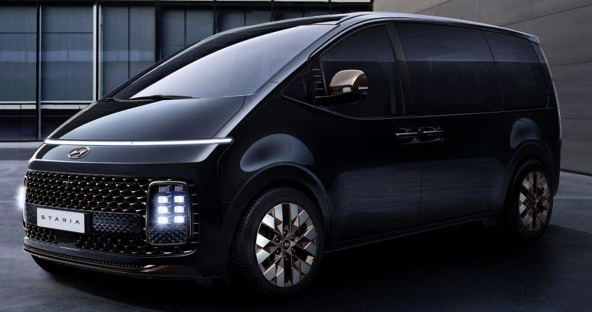 Hyundai Staria – lebih banyak gambar dan perincian didedah, mod santai bagi penumpang varian Premium Image #1265402