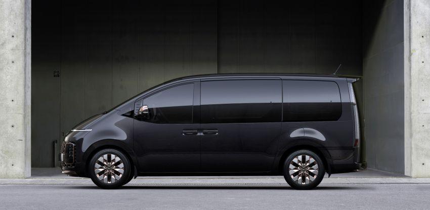 Hyundai Staria – lebih banyak gambar dan perincian didedah, mod santai bagi penumpang varian Premium Image #1265401