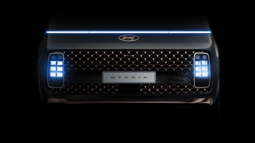 Hyundai Staria – lebih banyak gambar dan perincian didedah, mod santai bagi penumpang varian Premium Image #1265400
