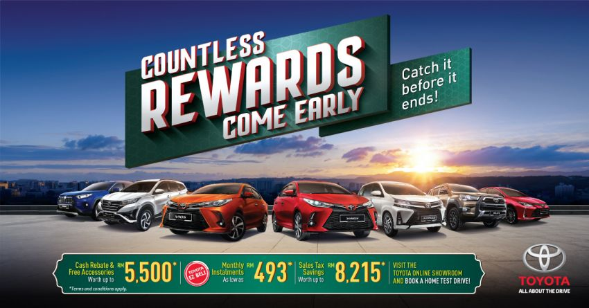 """AD: Get a new Toyota with rebates, accessories worth up to RM5,500 with """"Drive Toyota for Raya"""" promos! Image #1262104"""