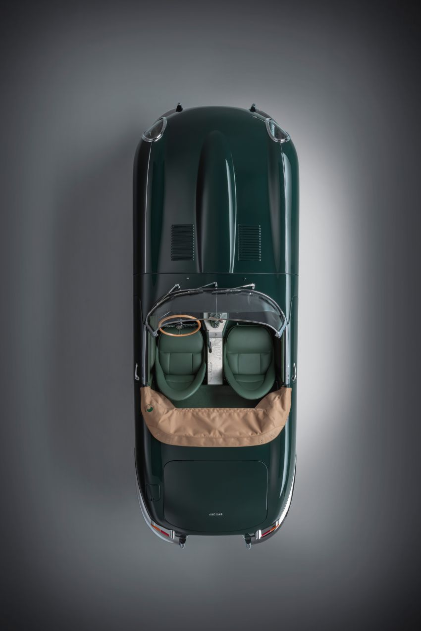 Jaguar E-type 60 Collection – icon turns 60; 12 units of restored coupé and convertible to be sold as pairs Image #1262897