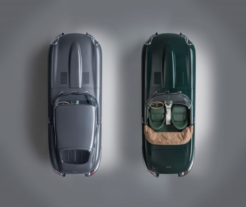 Jaguar E-type 60 Collection – icon turns 60; 12 units of restored coupé and convertible to be sold as pairs Image #1262898