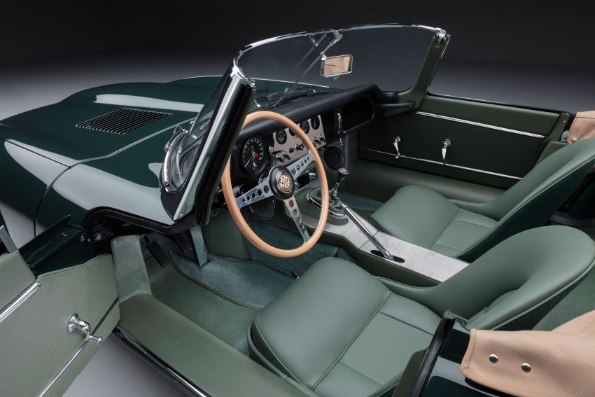 Jaguar E-type 60 Collection – icon turns 60; 12 units of restored coupé and convertible to be sold as pairs Image #1262909