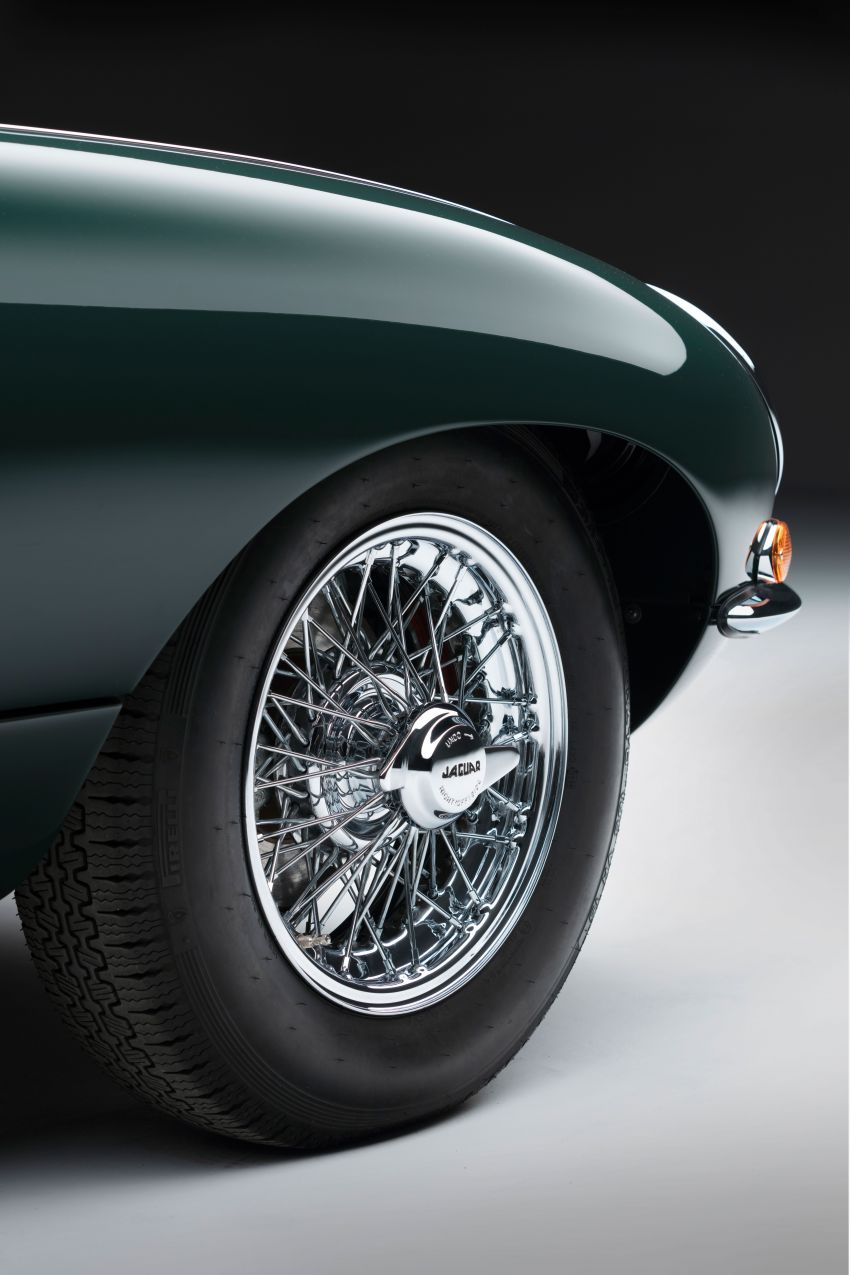 Jaguar E-type 60 Collection – icon turns 60; 12 units of restored coupé and convertible to be sold as pairs Image #1262915