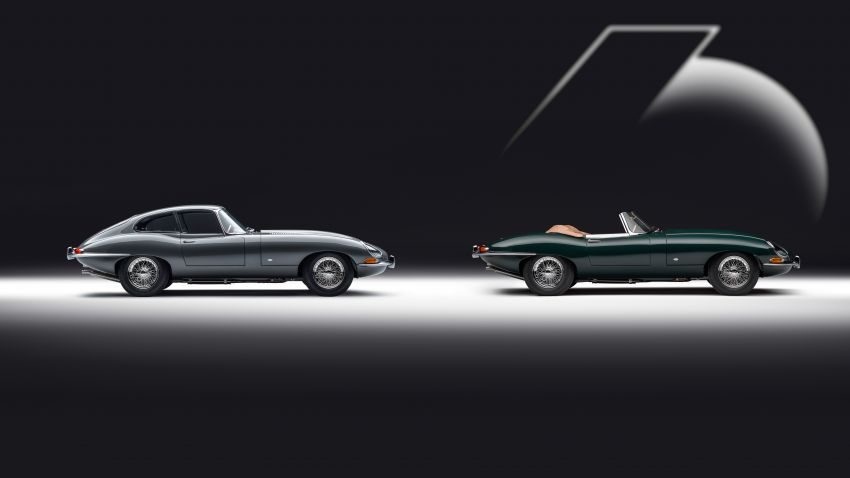 Jaguar E-type 60 Collection – icon turns 60; 12 units of restored coupé and convertible to be sold as pairs Image #1262888