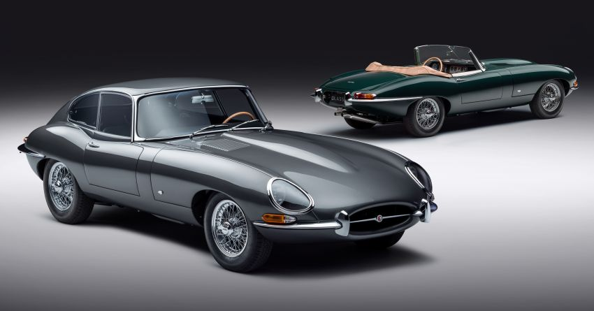 Jaguar E-type 60 Collection – icon turns 60; 12 units of restored coupé and convertible to be sold as pairs Image #1262891
