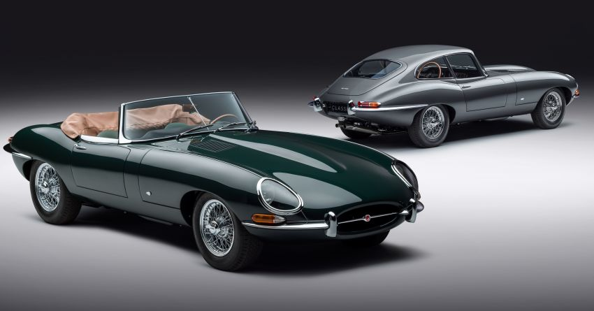 Jaguar E-type 60 Collection – icon turns 60; 12 units of restored coupé and convertible to be sold as pairs Image #1262892