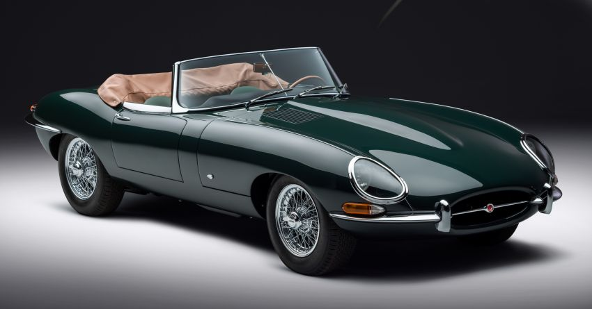 Jaguar E-type 60 Collection – icon turns 60; 12 units of restored coupé and convertible to be sold as pairs Image #1262893