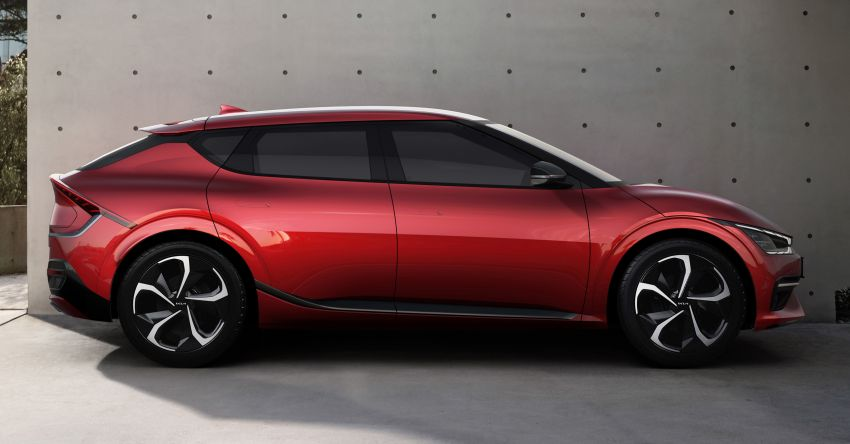 Kia EV6 debuts  – 800V architecture fast-charging to 80% in 18 mins, up to 510 km range, 0-100 km/h in 3.5 s Image #1271652