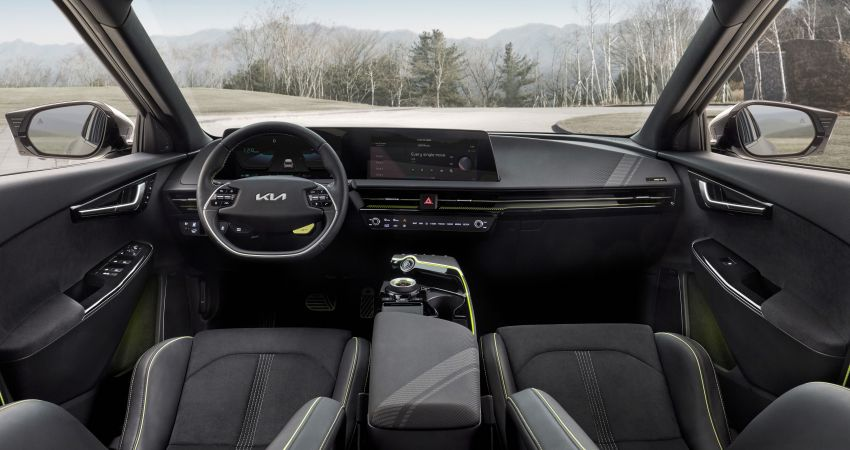 Kia EV6 debuts  – 800V architecture fast-charging to 80% in 18 mins, up to 510 km range, 0-100 km/h in 3.5 s Image #1271663