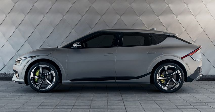 Kia EV6 debuts  – 800V architecture fast-charging to 80% in 18 mins, up to 510 km range, 0-100 km/h in 3.5 s Image #1271659