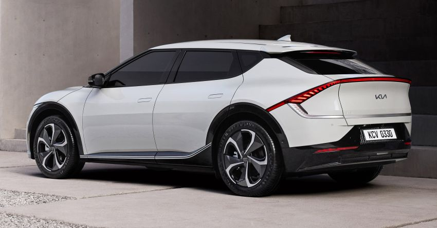 Kia EV6 official photos revealed ahead of global debut Image #1263234