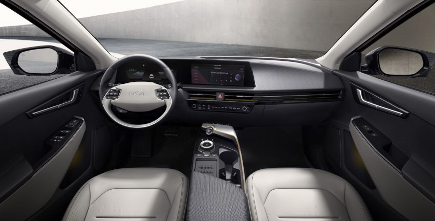 Kia EV6 official photos revealed ahead of global debut Image #1263238