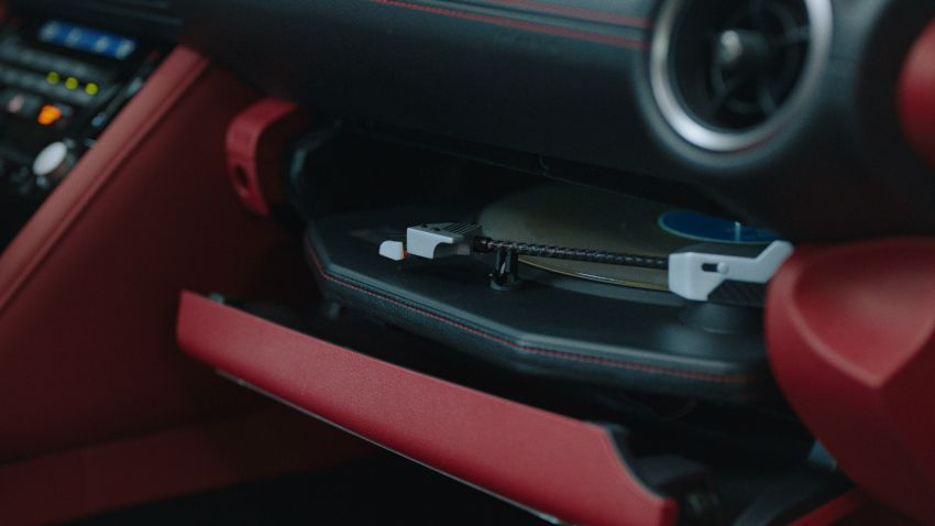 Lexus IS Wax Edition features a working record player Image #1268152