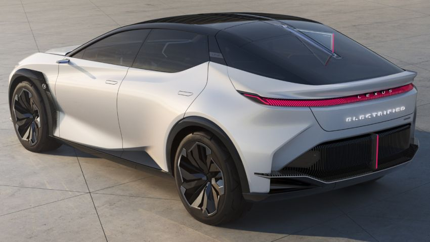 Lexus LF-Z Electrified concept heralds new era – EV with 544 PS and 700 Nm, Direct4 AWD, 600 km range Image #1271066
