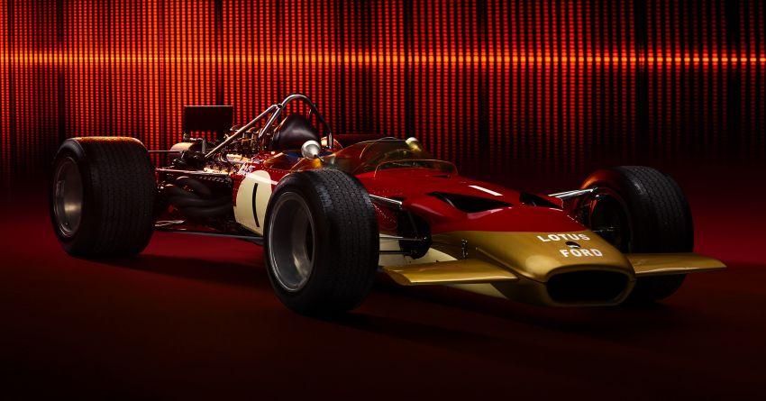 """Lotus Evija dapat """"bunyi enjin"""" palsu dari enjin V8 jentera F1 Type 49, hasil kerja produser muzik British Image #1263595"""