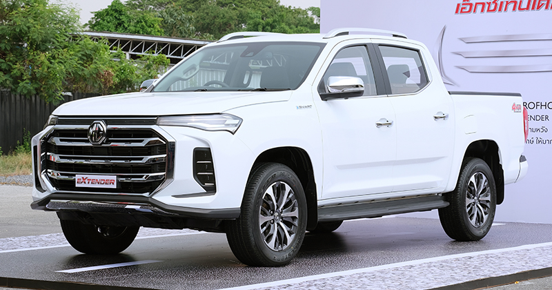 MG Extender facelift revealed in Thailand – rebadged Maxus T60 pick-up refreshed with radical new nose Image #1264179