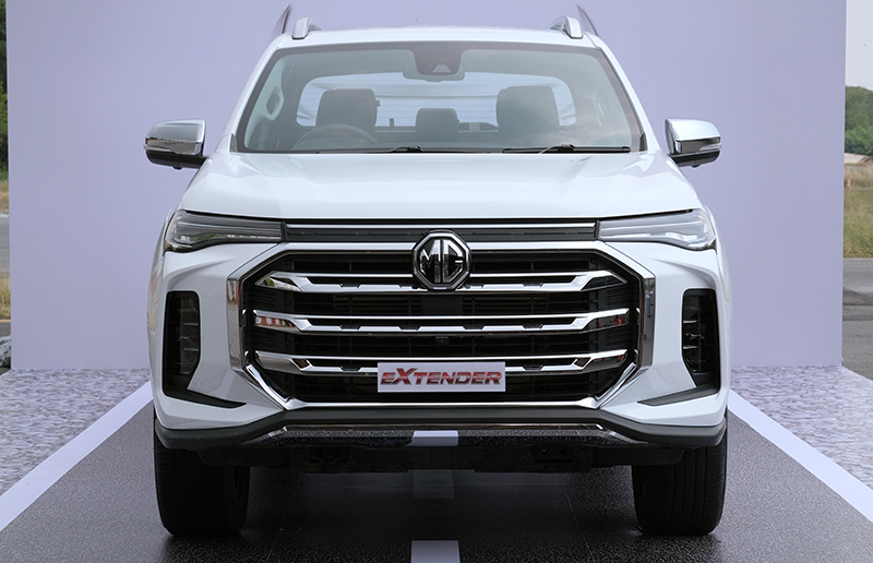 MG Extender facelift revealed in Thailand – rebadged Maxus T60 pick-up refreshed with radical new nose Image #1264204