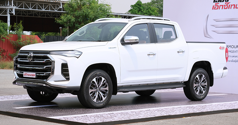 MG Extender facelift revealed in Thailand – rebadged Maxus T60 pick-up refreshed with radical new nose Image #1264181