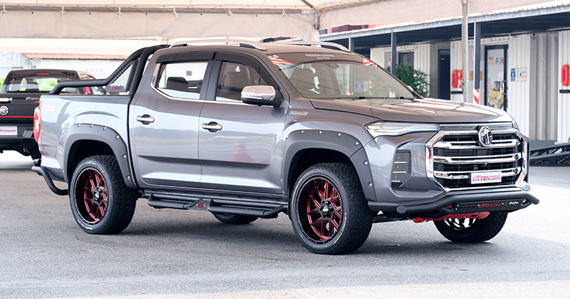 MG Extender facelift revealed in Thailand – rebadged Maxus T60 pick-up refreshed with radical new nose Image #1264218