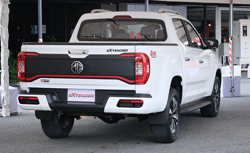 MG Extender facelift revealed in Thailand – rebadged Maxus T60 pick-up refreshed with radical new nose Image #1264182