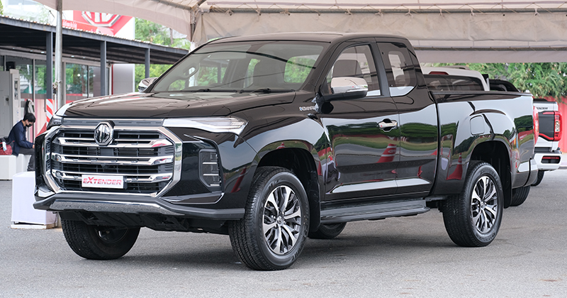 MG Extender facelift revealed in Thailand – rebadged Maxus T60 pick-up refreshed with radical new nose Image #1264223