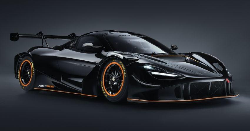 McLaren 720S GT3X is a regulation-free track monster with a passenger seat – 4.0L V8, 750 PS; 1,210 kg! Image #1265325