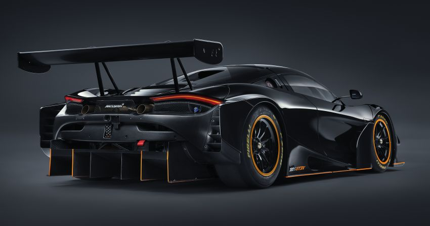 McLaren 720S GT3X is a regulation-free track monster with a passenger seat – 4.0L V8, 750 PS; 1,210 kg! Image #1265326