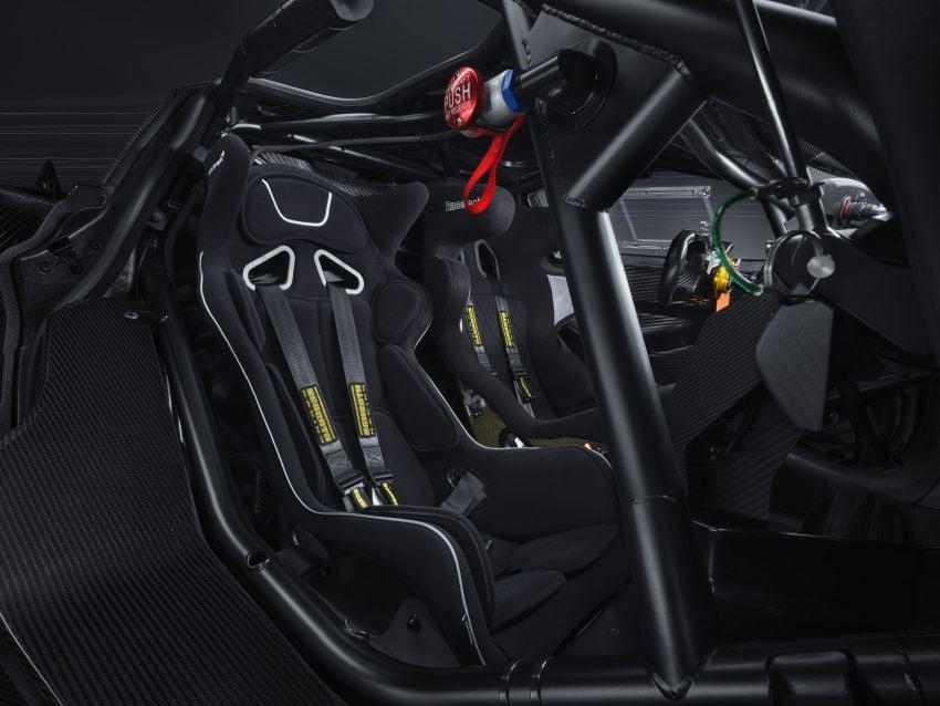 McLaren 720S GT3X is a regulation-free track monster with a passenger seat – 4.0L V8, 750 PS; 1,210 kg! Image #1265327
