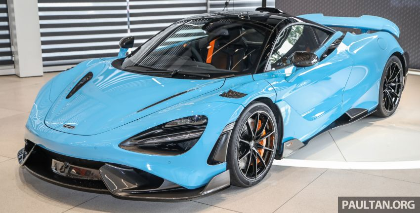 McLaren 765LT – first customer car lands in Malaysia, over RM200,000 in options, RM1.7 million before taxes Image #1267429