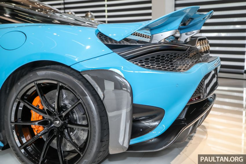 McLaren 765LT – first customer car lands in Malaysia, over RM200,000 in options, RM1.7 million before taxes Image #1267457