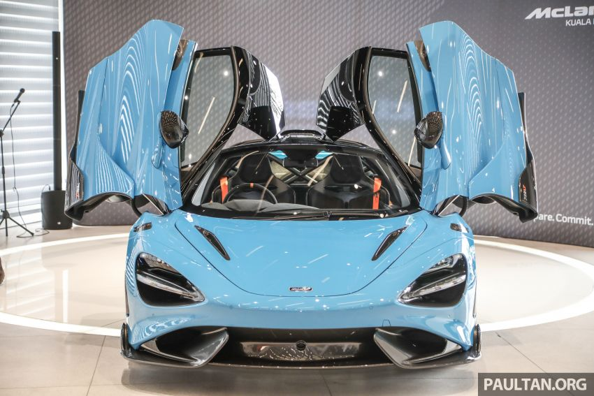 McLaren 765LT – first customer car lands in Malaysia, over RM200,000 in options, RM1.7 million before taxes Image #1267435