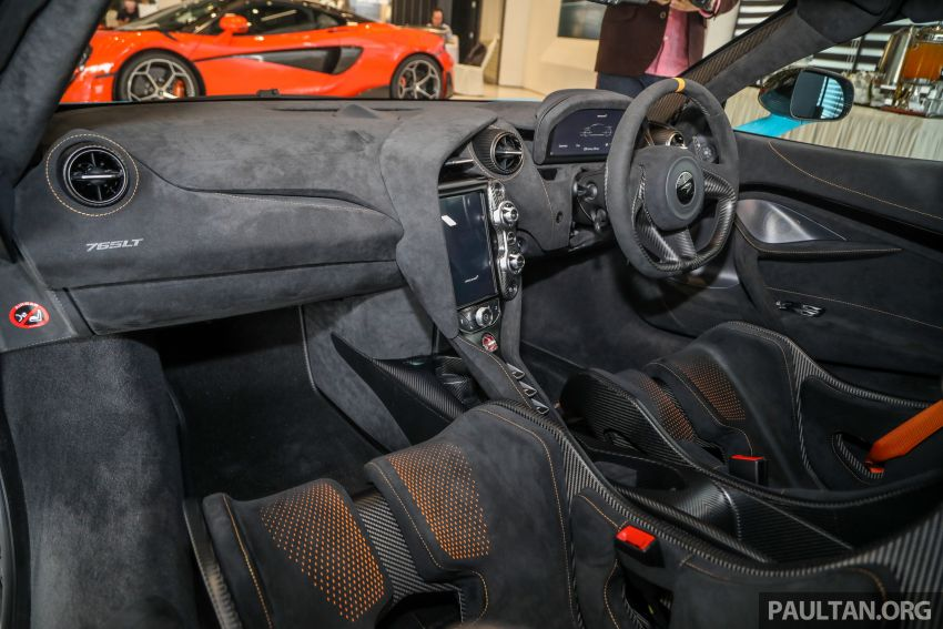 McLaren 765LT – first customer car lands in Malaysia, over RM200,000 in options, RM1.7 million before taxes Image #1267483