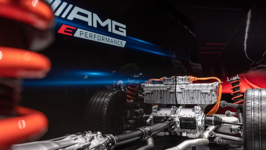 Mercedes-AMG E Performance strategy detailed – four-cylinder C63; powertrains with over 816 PS, 1,000 Nm Image #1271728