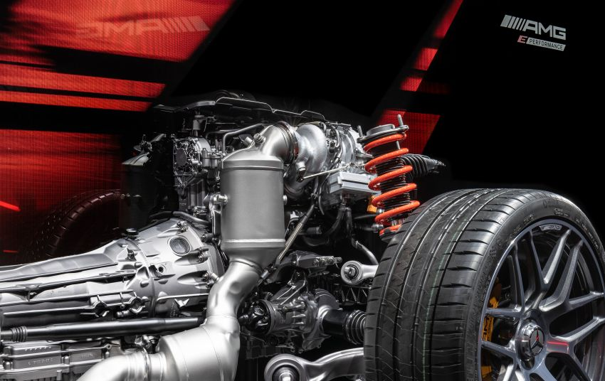 Mercedes-AMG E Performance strategy detailed – four-cylinder C63; powertrains with over 816 PS, 1,000 Nm Image #1271737